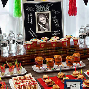 Graduation Mini Tasting Table Idea