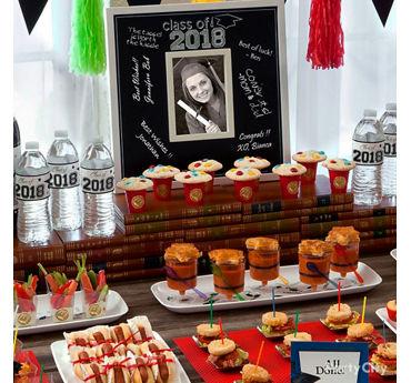 Graduation Mini Tasting Table Idea