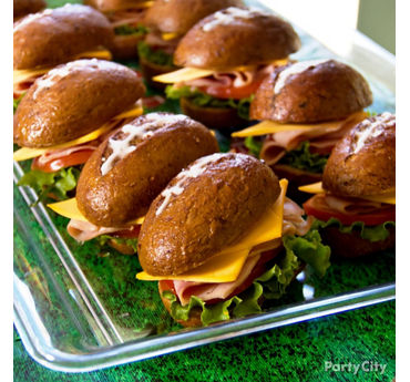 Football Sandwiches Idea