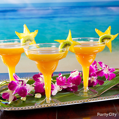 Tropical mango margarita recipe luau cocktail ideas for Summer drinks for party