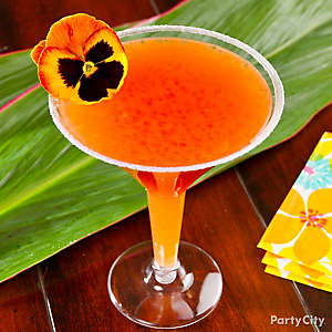 Tropical Guava Tini Cocktail Recipe