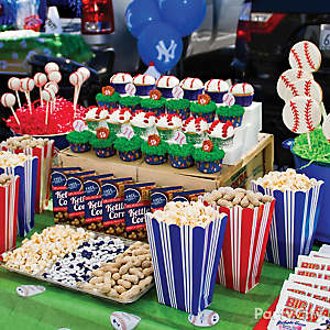 Baseball Food Table Ideas