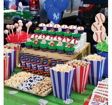 Baseball Tailgating Table Idea