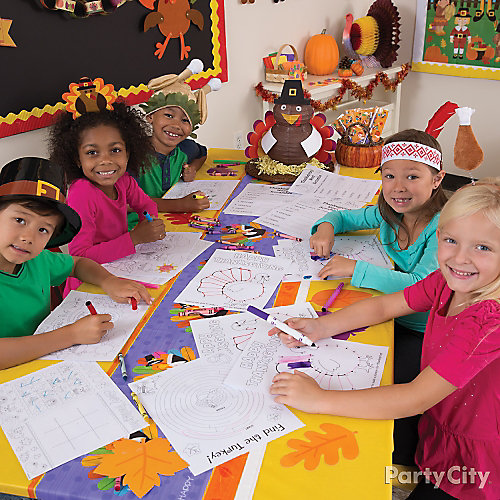 Classroom Dress Up Ideas ~ Thanksgiving dress up idea class party