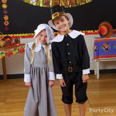 Kids Pilgrim Dress Up Idea