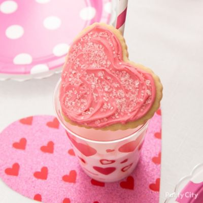 Milk and Heart Cookie Idea