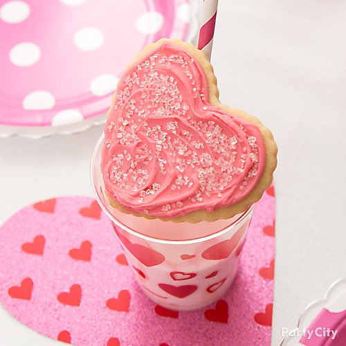 Milk & Heart Cookie Idea