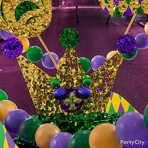 King of Mardi Gras Crown Idea