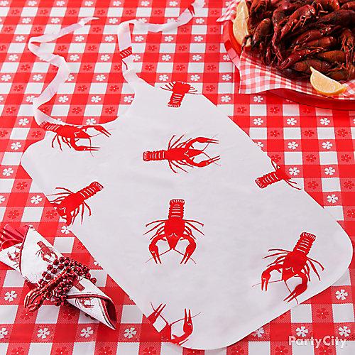 Seafood Bib DIY