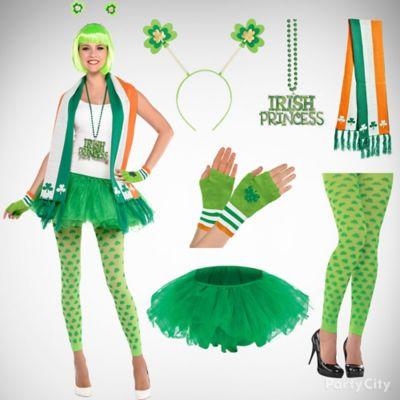 St. Patricks Sassy Tutu Outfit Idea