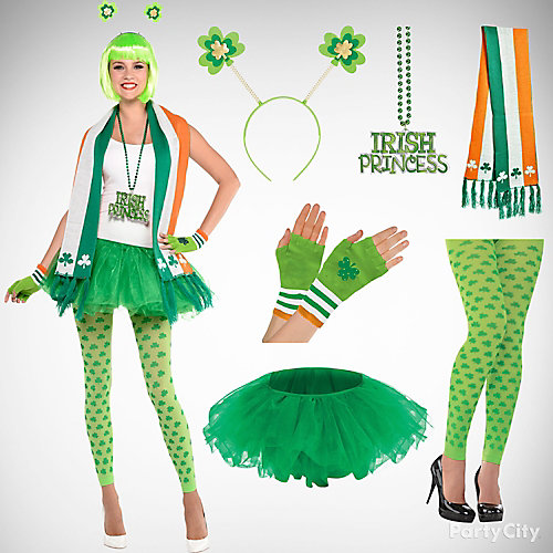 St patricks sassy tutu outfit idea day
