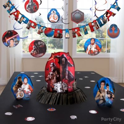 DIY Star Wars Centerpiece Party City