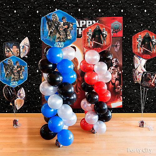 Star Wars Balloon Tower DIY