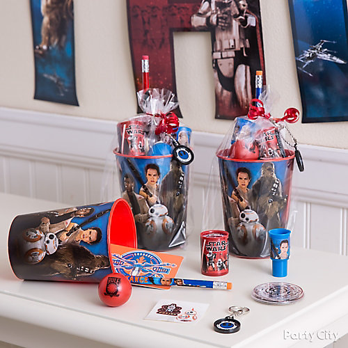 Star Wars Favor Cup Idea