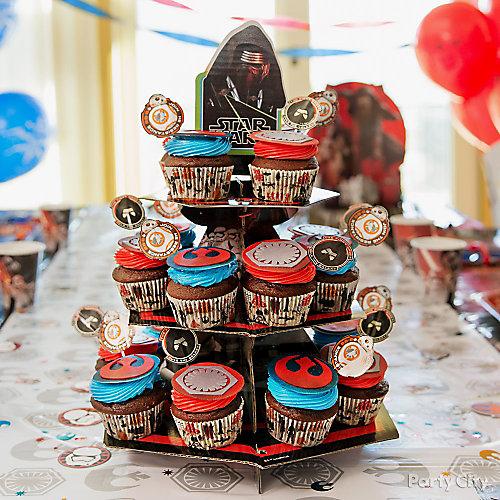 Star Wars Cupcake Tower