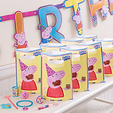 Peppa Pig Favor Pack for 8 Idea