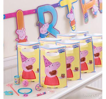 Peppa Pig Favor Pack for 8 Idea