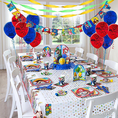 Super Mario Party Table Idea