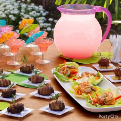 Luau Mini Tasting Ideas