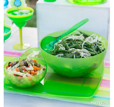 Green Bean and Jicama Salads Idea