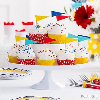 Sailboat Cupcakes Idea