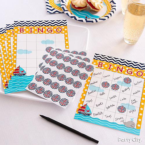 Bingo Baby Shower Game Idea