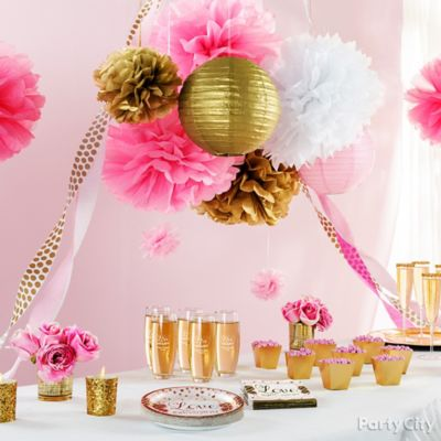 Sparkling Bridal Shower Ideas