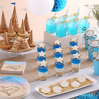 Beach Love Treats Table Idea