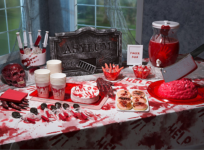 Bloody Good Asylum Buffet Ideas