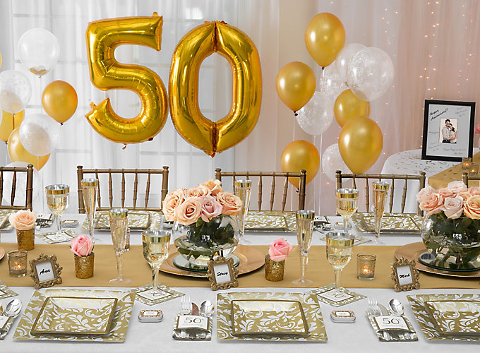 50th Anniversary Ideas