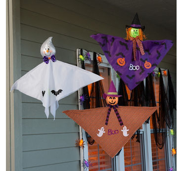 Flying Friends Porch Idea
