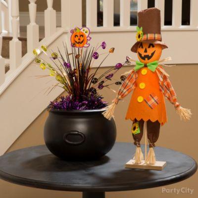 Happy Pumpkin Pal Table Idea
