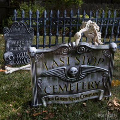Pet Cemetery Sign Idea