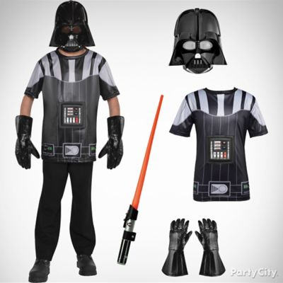 Boys Darth Vader Costume Idea