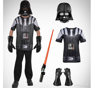 Boys Darth Vader Costume Idea