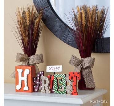 Harvest Vignette Idea