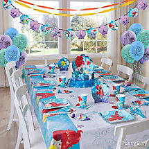 Little Mermaid Party Table Idea