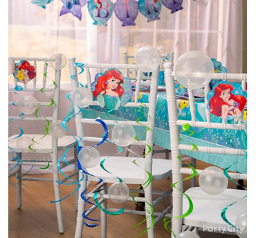 Little Mermaid Chair Decorating DIY