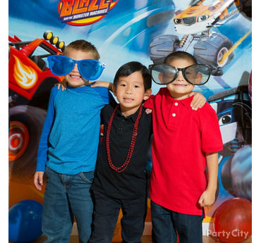 Blaze Photo Booth Activity Idea