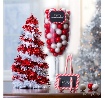 Candy Cane Placecard Holder DIY