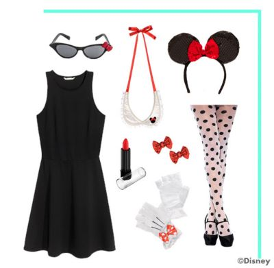 Minnie Mouse Costume 3 Ways