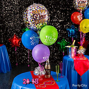 Bubbly Balloon Centerpiece Idea