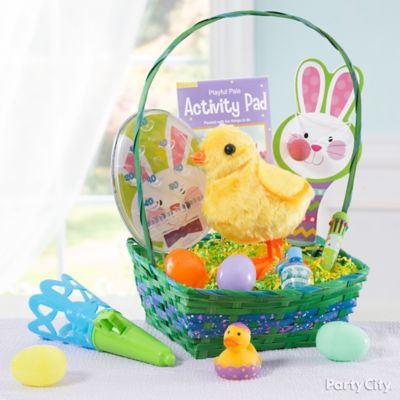 Colorful Favors Easter Basket Idea
