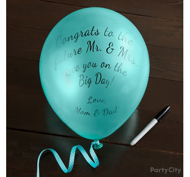 Balloon Well Wishes Idea