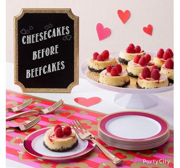 Galentine's Cheesecake Idea