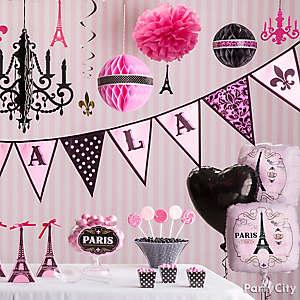 Posh Parisian Decorations Idea