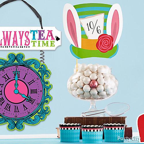 White Rabbit Candy Display