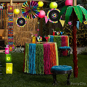 Neon Paradise Party Ideas Party City