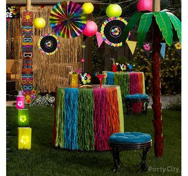 Palm Tree Decorating Idea