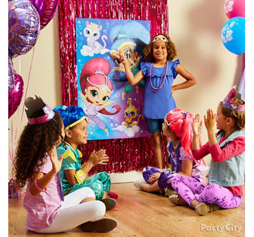 Shimmer and Shine Pin It Game Idea